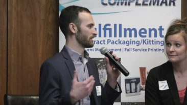 RocGrowth Candids 2019-03-06 • Zach Sarkis: NYHempLab • Michele Liddle: The Perfect Granola
