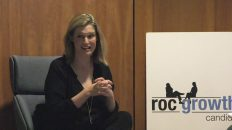 RocGrowth Candids 2019-11-06 • Erica Fee • Festival Producer of KeyBank Rochester Fringe Festival