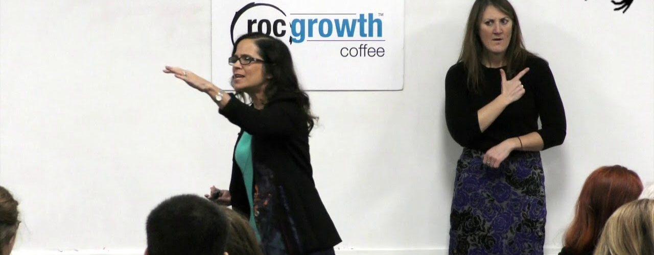 RocGrowth Coffee 2019-12-06 * Annette Ramos * La Marketa