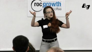 RocGrowth Coffee 2019-12-06 * Antonietta Alfano * Come Fly With Me Healing