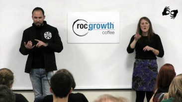 RocGrowth Coffee 2019-12-06 * Phil Szal * Rochester Pedal Tours and Cycle Boats
